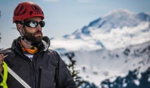 Beau Chevassus Climbing Rainier
