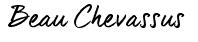 Beau Chevassus signed