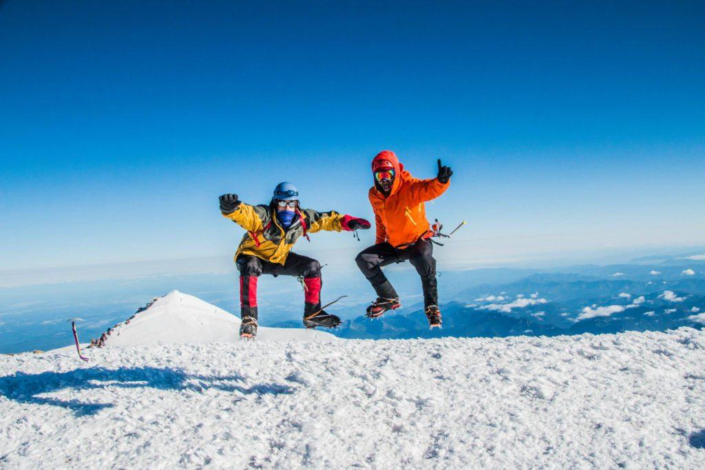 Beau Chevassus Mt Rainier