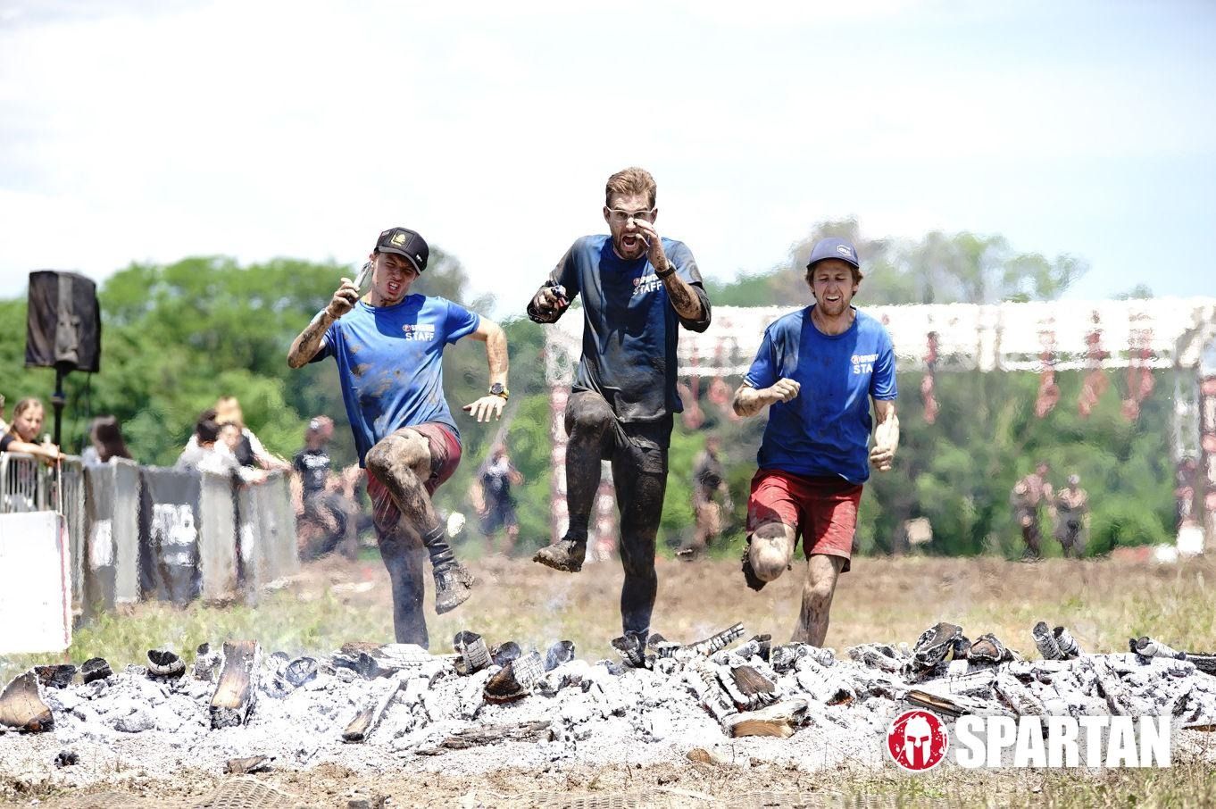 staff running spartan race