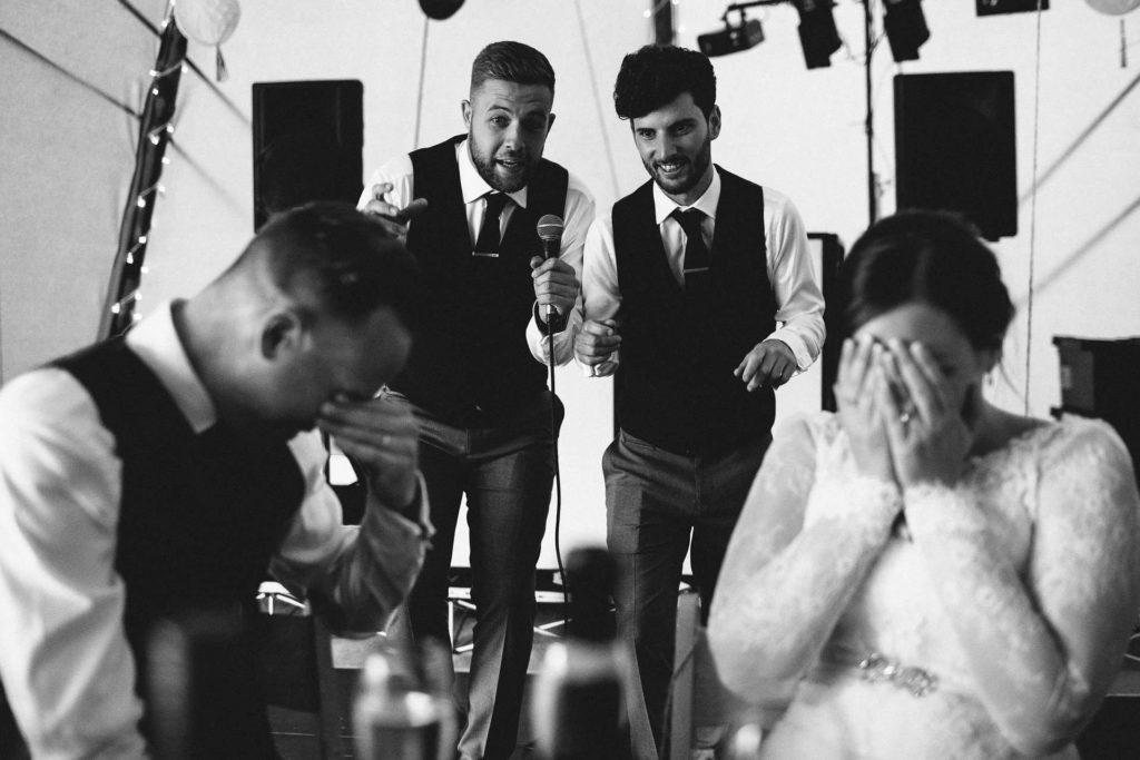 annoying toast wedding