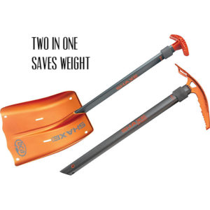 Backcountry Access Shaxe Speed Shovel two in one axe shovel