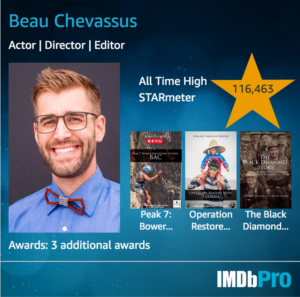Beau Chevassus on IMDB