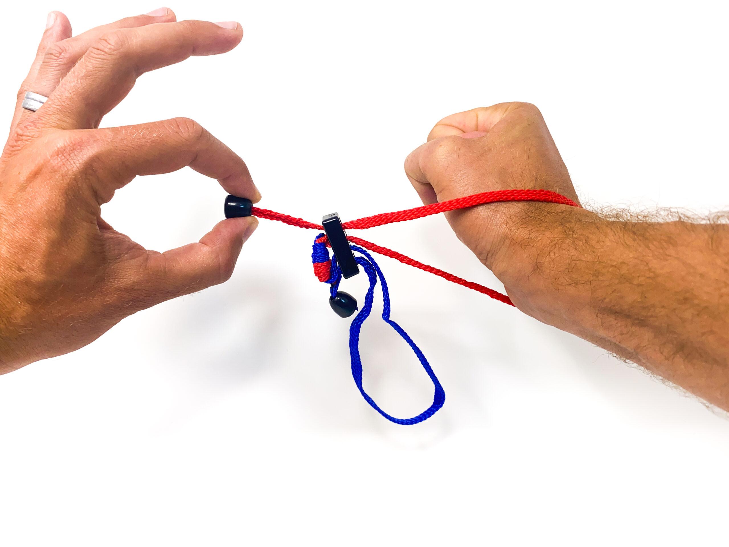 Upgraded textile rope handcuffs flex cuffs riot cords